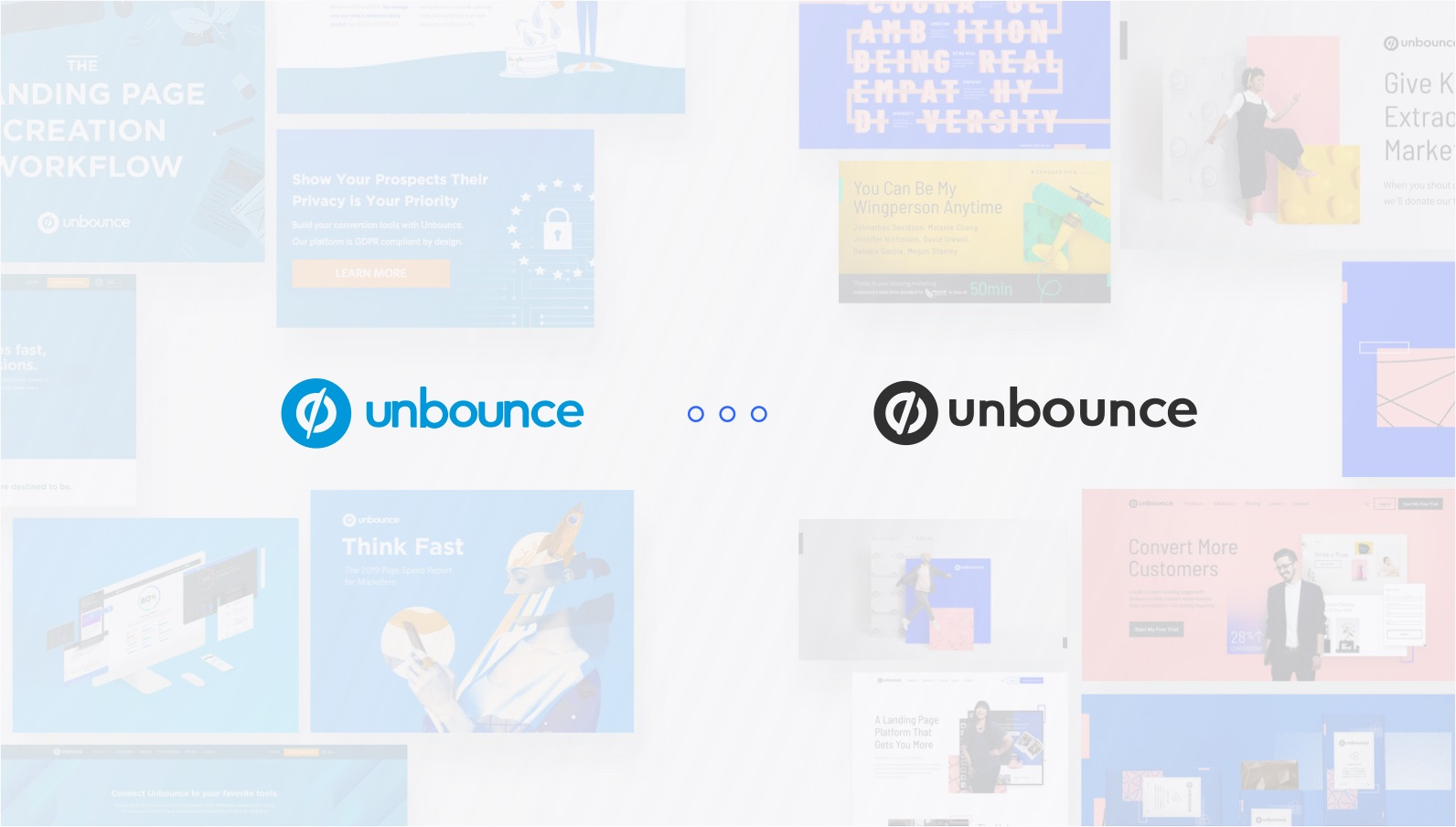 unbounce brand evolution process impression test visual exploration feature image
