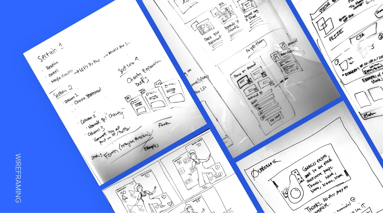 chooseextra campaign wireframing